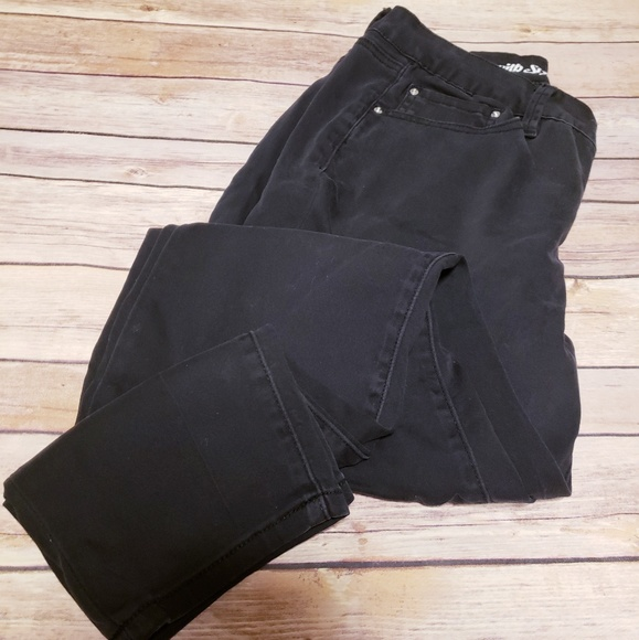 881a83fefa Signature studio Jeans | Black Skinny Stretch Pants | Poshmark